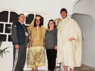 Mohammed, Daniela, Naima,Stefano