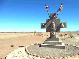 """Cruz andina """"Chakana"""" - Atacama"""